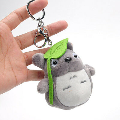 Mini My Neighbor Totoro Soft Plush Doll Key Chain