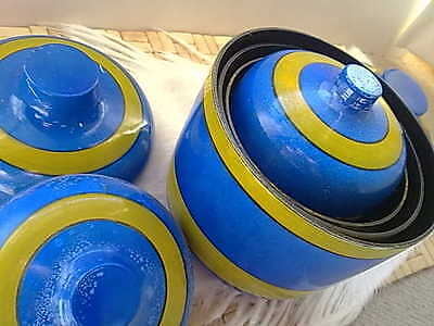 Vintage Japan Retro Canisters