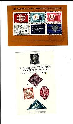 London stamp exhibition sheetlets (1930)