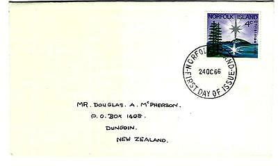1966 FDC first day cover 4c christmas (185)