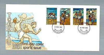 Tokelau Islands from 1981 first day cover (3195)