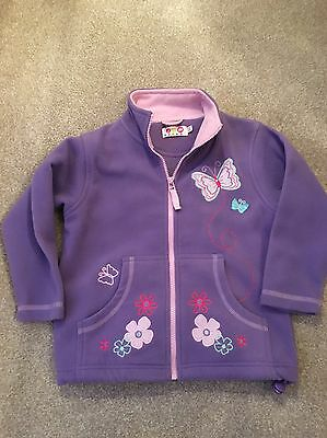 girls fleece jacket 5-6