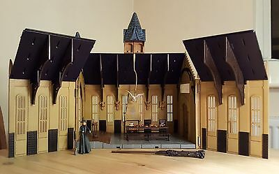 Harry Potter Hogwarts Great Hall Playset, McGonagall Figure & Accessories