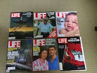Life Magazine Lot Of 6 Excellent
