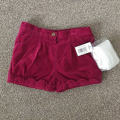 Matalan Girls Shorts With Tights Set Size 3-4 Years