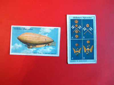 2 GALLAHER- CIGARETTE CARDS - THE GREAT WAR SECOND SERIES NOs -132 &175