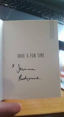 Signed Jemma Redgrave Christmas Card Charity Auction Dr Who Kate Stewart Unit
