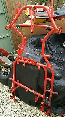 Rotax max go kart chassis very clean