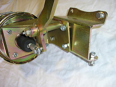 "1947-54 Chevy Truck 7"" Dual Power Brake Booster Bracket Pedal Assembly NO MASTER"