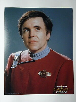 Unsigned Walter Koenig pictures Star Trek 50 years merchandise bid per picture
