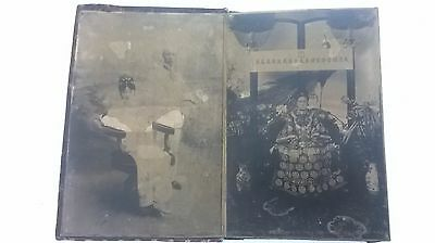 Old Chinese Photographs / Prints Vintage Book Portraits Family etc