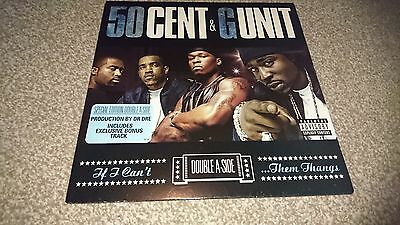 """50cent and g unit double a side 12"""" vinyl if i cant and them thangs"""