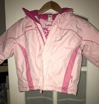 Little Girls Pink Think Snow Coat By Oxylane Age 2 Years