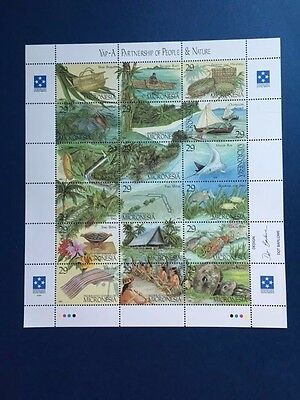 Micronesia Sheet Of 1993 Stamps (18) Mnh