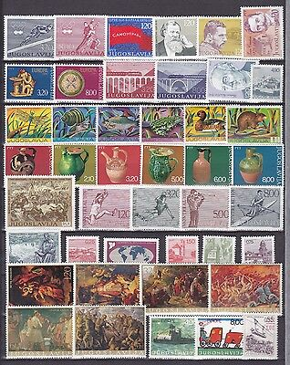 Lot Yugoslavia Jugoslawien 1976 MNH** year nice stamps briefmarken