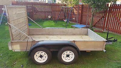 """Car Trailer.Plant Trailer.Twin Axel9ft X 5ft3"""""""