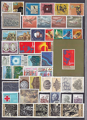 Lot Yugoslavia Jugoslawien 1978 MNH** year nice stamps briefmarken