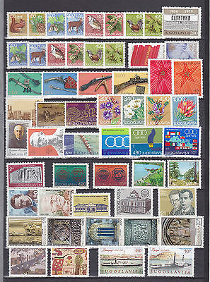 Lot Yugoslavia Jugoslawien 1978/ 1979 MNH** year nice stamps briefmarken