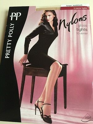 Pretty Polly Gloss Tights Large