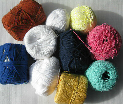 Knitting Cottons 8 ply 460g Oddments