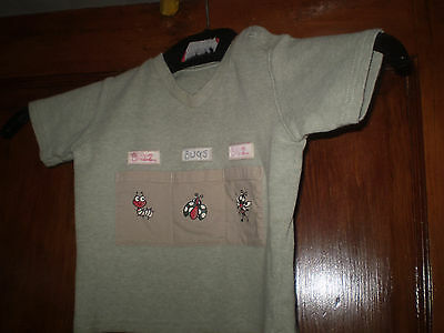 George green T'shirt Size 9-12 months