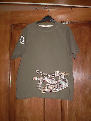 Next khaki T'shirt Size 5 yrs