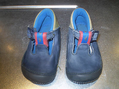 Blue baby shoes Size 3 1/2