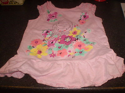 Nutmeg pink top Size 3-4yrs