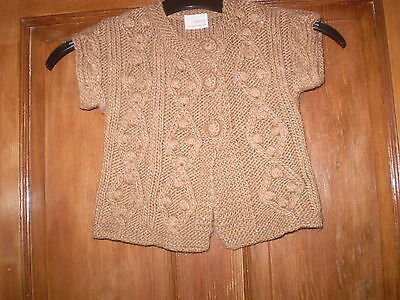 Next baby Brown cardigan Size 6-9 mths
