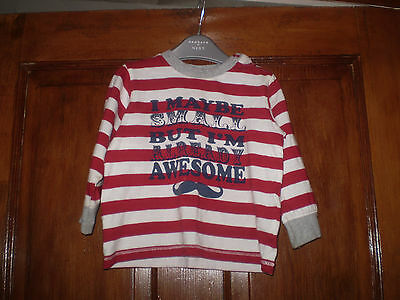 Matalan stripe top Size 9-12 mths