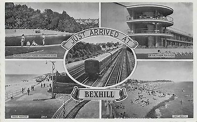 Original RPPC - Real Photo postcard - Multiview Postcard - Bexhill
