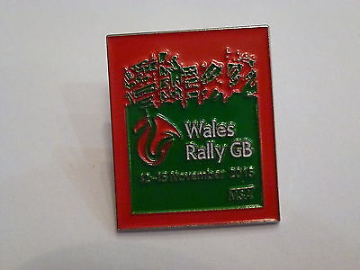 Wales Rally Gb 2015 Official Lapel Pin Badge *rare*