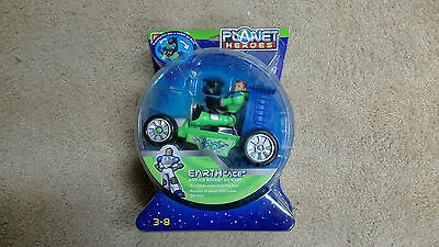 Planet Heroes - Earth (Ace With Cart) NIB