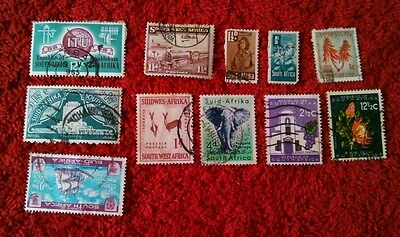 Vintage Postage Stamps of South Africa Job Lot