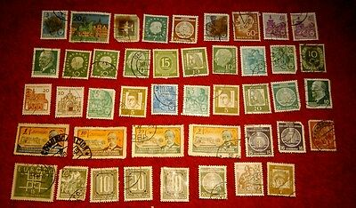 Vintage Postage Stamps of Germany Job Lot