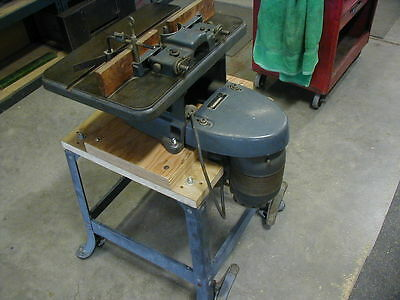 Vintage Sears Wood Shaper 1/2in. Spindle 8 Cutters