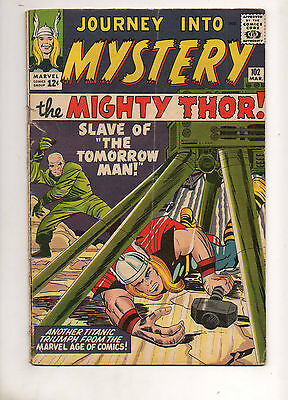 Journey into Mystery #102 THOR! 1ST APP The Lady SIF & HELA!! 1964 VG+ 4.0/4.5
