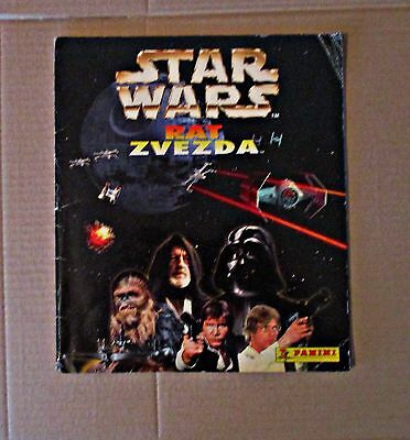 Star Wars - Panini - Complete Album With Poster