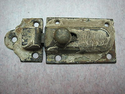cabinet latch antique cast iron  jelly catch rustic cupboard with KEEPER