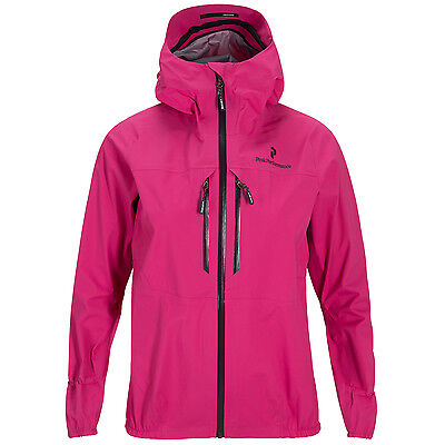 Peak Performance W BL 3L Active GTX Jacket Damen S Gore Tex Jacke pink UVP 400€