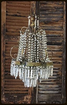 Antique Crystal Chandelier, from Italy