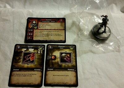World of Warcraft Miniature Game, Kayleitha figure,Core-C and cards, WoW