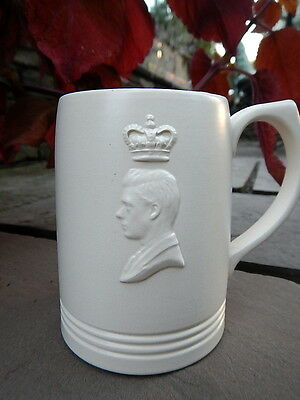 EDWARD VIII 1937 WEDGWOOD England Coronation BEAKER MUG Duke of Windsor Murray