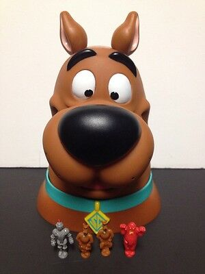 Scooby Doo Playset Head Case with 4 Figures