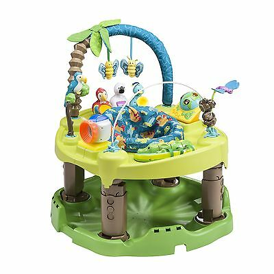 Exersaucer Triple Fun Life in The Amazon, Blue/Green/Brown