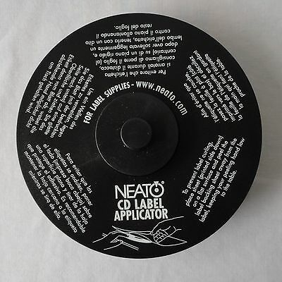 NEATO CD Label Applicator for Full-size and Mini Labels