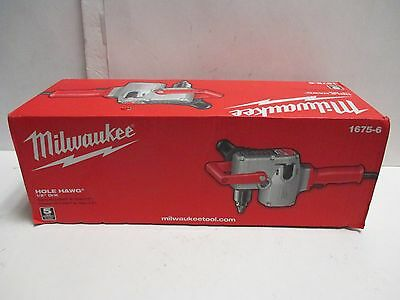 "NEW Milwaukee Hole Hawg 1/2"" Drill Model 1675-6"