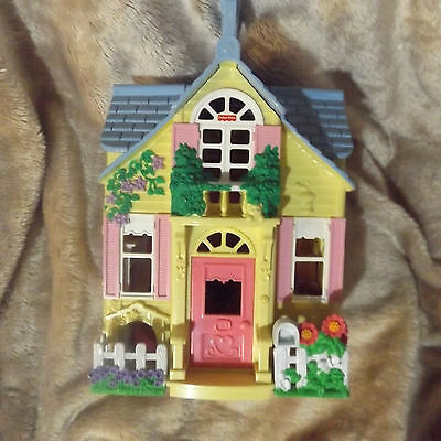 Fisher Price Plastic Doll Play House 2000 Mattel