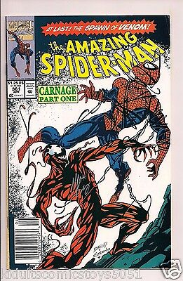 Amazing Spider-Man #361 First Full Appearance of Carnage Marvel Free Shipping