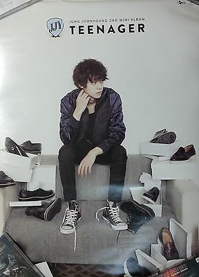 Jung Joon Young: Teenager (2014) Korea / TAIWAN UNFOLDED PROMO POSTER